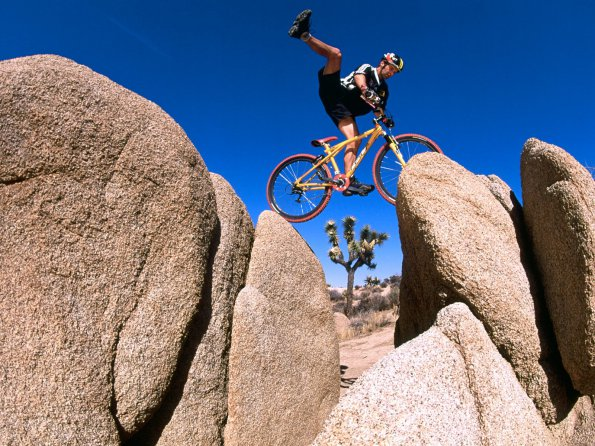 Balance on Red Rock Gap, Yucca Valley, California