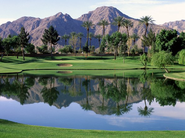17th Hole, Indian Wells Resort, California