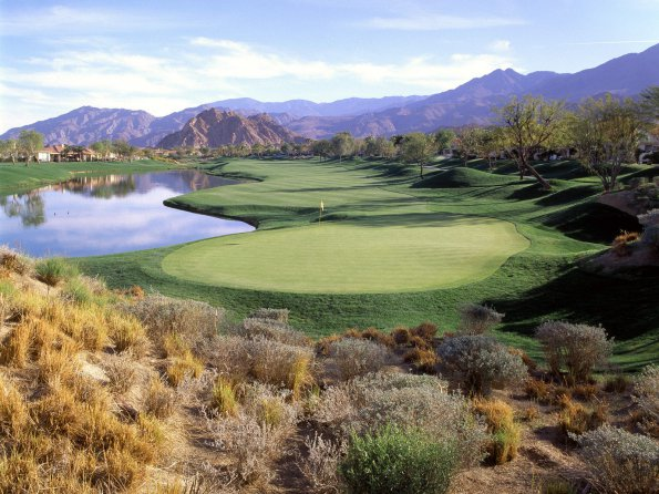 8th Hole, PGA West, La Quinta, California